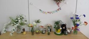 のいちご棚の花