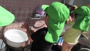 入室 2歳児 手洗い