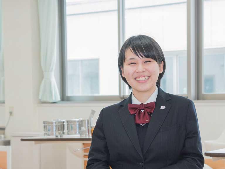 看護学科専門課程科2年 松永 葉月